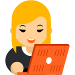 Online learning icon (width 150)